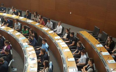 Na zasedanju nacionalnega otroškega parlamenta